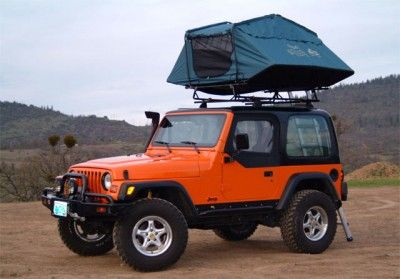 Oasis II Rooftop Tent from Rogue River Trading
